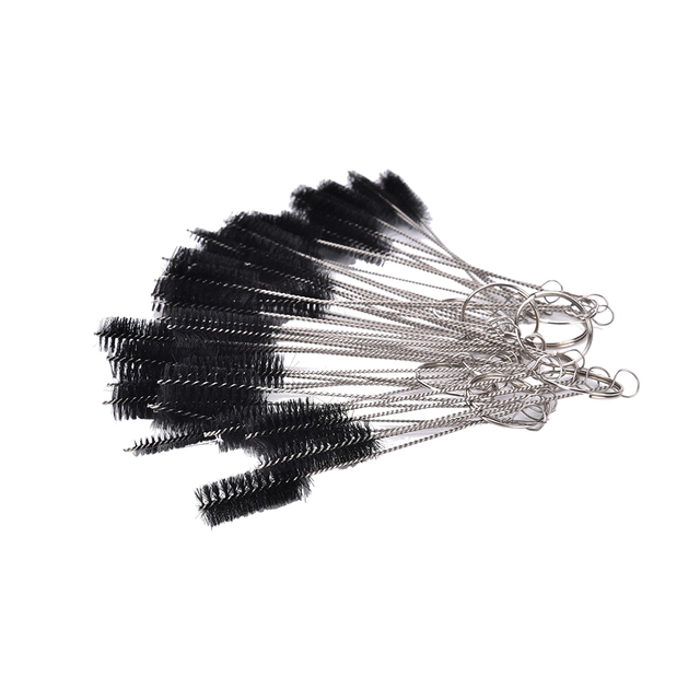 Tattoo Supplies 5 Pcs/lot Machine Tube Tip Cleaning Brush Needle Tip Brushes Set Tools Women Beauty Tool Supply Hot Sale