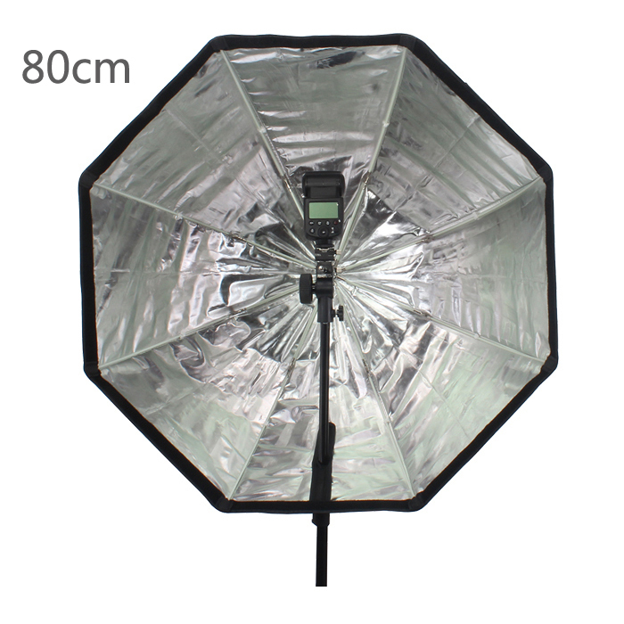 Prix pour Godox Photo 80 cm/31.5in Octogone Parapluie Softbox Brolly Réflecteur pour Studio Studio Flash Speedlite