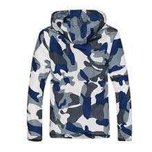 2018 New Autumn Men's Fashion Camouflage Jacket Men Tide Male Hooded Thin Camo Bomber Jackets Sunscreen Coat Jaqueta Masculina