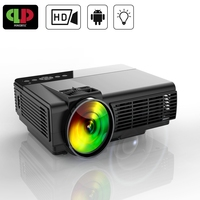 Powerful MINI Projector Android WIFI Projector LED Portable HD Home Theater Projector Beamer Proyector With USB HDMI Projector