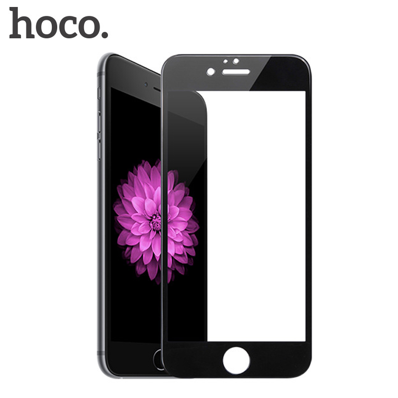 HOCO Full Cover Tempered Glass for iPhone 6 6s 7 8 3D Screen Protector for iPhone 8 7 6 s Plus Protective Glass Toughened FilmHOCO Full Cover Tempered Glass for iPhone 6 6s 7 8 3D Screen Protector for iPhone 8 7 6 s Plus Protective Glass Toughened Film