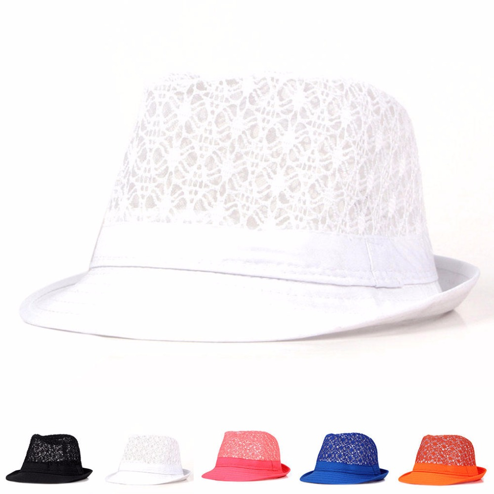 LNRRABC Fashion Casual Round Summer Cap For Women Hats & Caps Hollow Out Female Elegant Beach Sun Hats Clothing Accessories