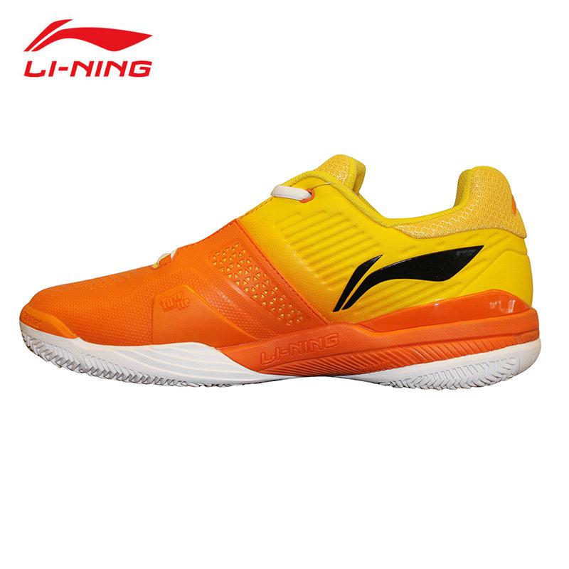Prix pour LI d'origine Hommes Chaussures De Tennis Professionnel de Rembourrage Respirant Soutien Stabilité Sneakers Sport Chaussures LI NING ATAK003