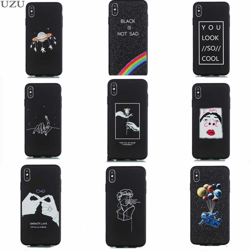 กรณีสำหรับ iphone 6 6s 7 8 plus 5 5s se ซิลิโคน vintage กันกระแทกป้องกันสำหรับ iphone x xr xs max etui coque
