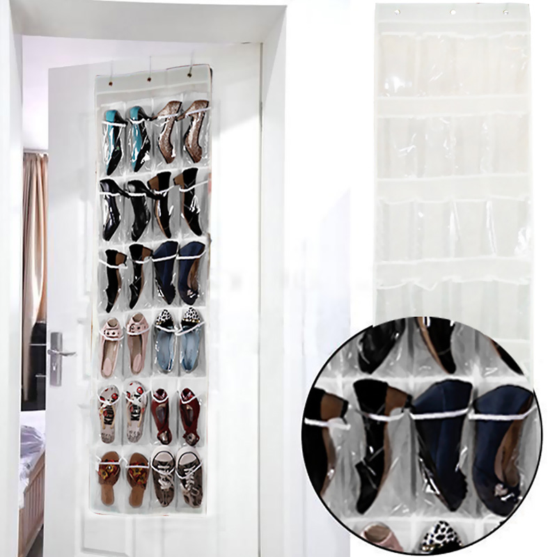 Online 24 Pocket Folding Hanging Shoes Storage Organizer Sundry Shoe Bag For Closet Home Wardrobe Aliexpress Mobile