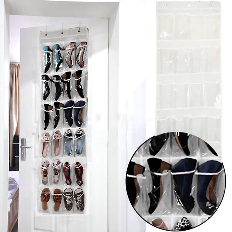 Aliexpress.com : Buy 24 Pocket Folding Hanging Shoes Storage Organizer  Hanging Sundry Shoe Storage Bag For Closet Home Wardrobe Hanging Bag From  Reliable ...