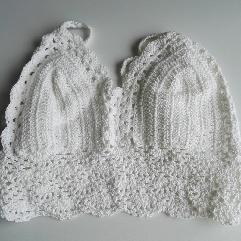 HTB1bccnRXXXXXXhaXXXq6xXFXXXn - FREE SHIPPING Womens Bralette Halter Neck Crop Top Knit Crochet JKP180