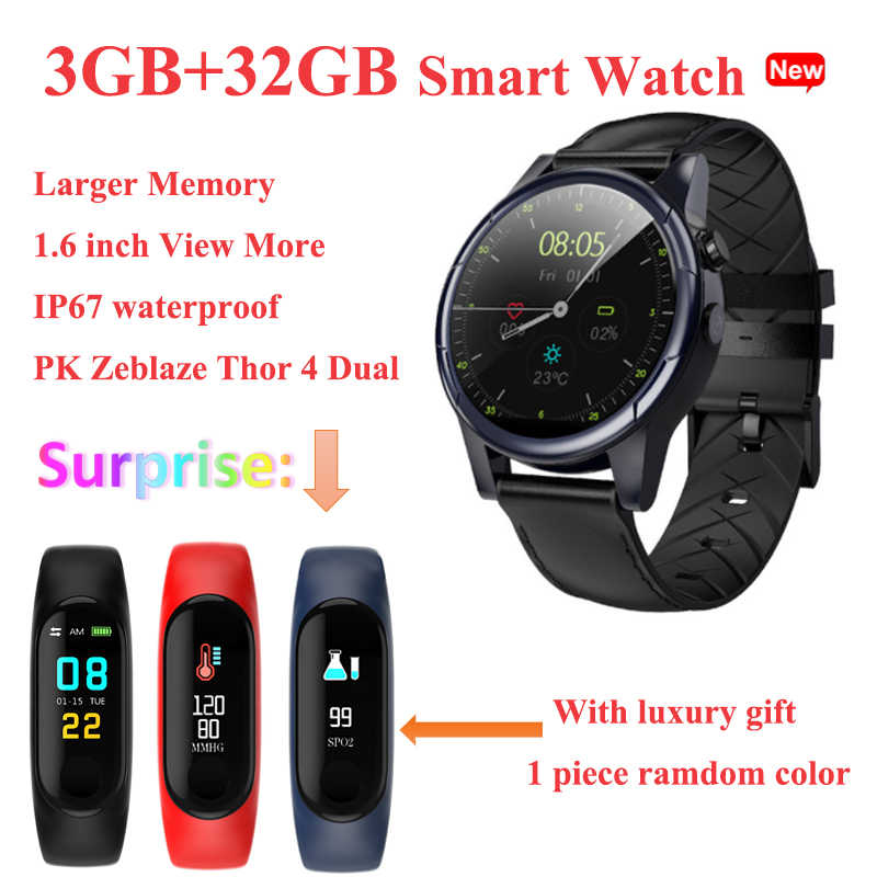 87d1965fe 2019 New KY88 Smart Watch 32GB 1.6 Inch Big Screen 4G Android GPS WIFI Sim  Card