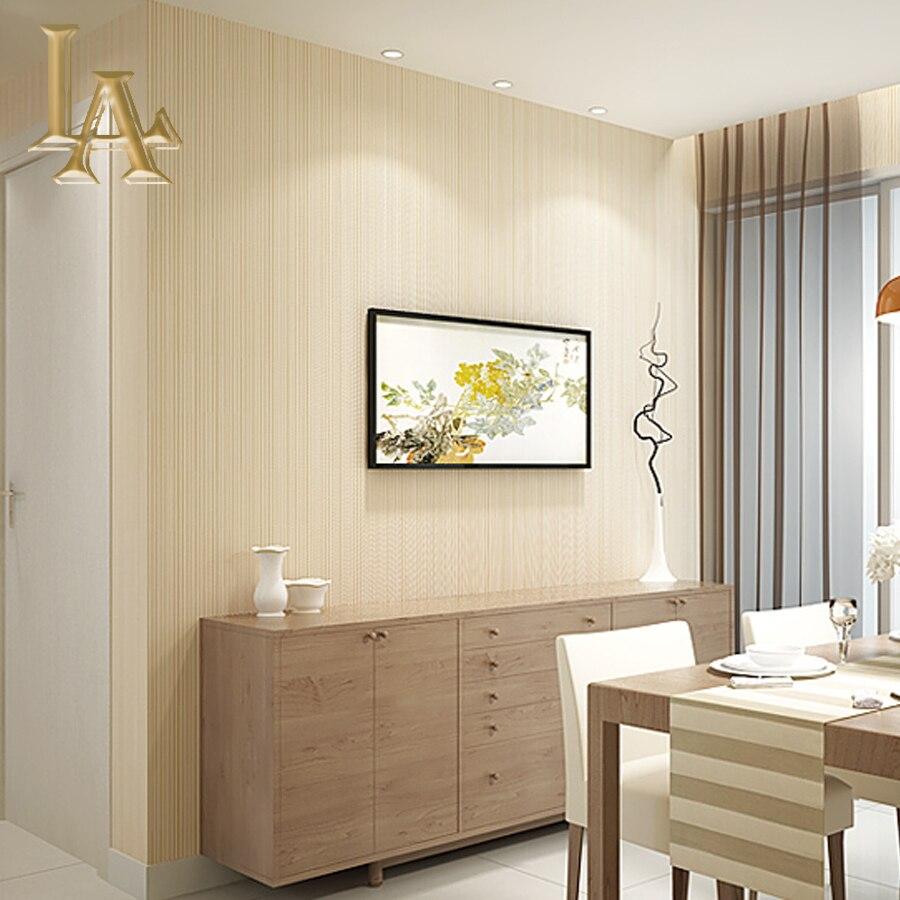 Einfache Beige Braun Grau Gold Striped 3D Tapete Wohnzimmer Hintergrund  Moderne Streifen Wand Papier Entwirft Wohnkultur