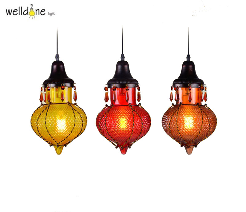 Colorful Glass Creative LED Pendant Lights Simple Hanglamp Fixtures For Cafe Bar Dinning Home Lightings colorful nordic led pendant lights modern simple pendant lamp creative hanglamp fixtures for home lightings lamparas colgantes