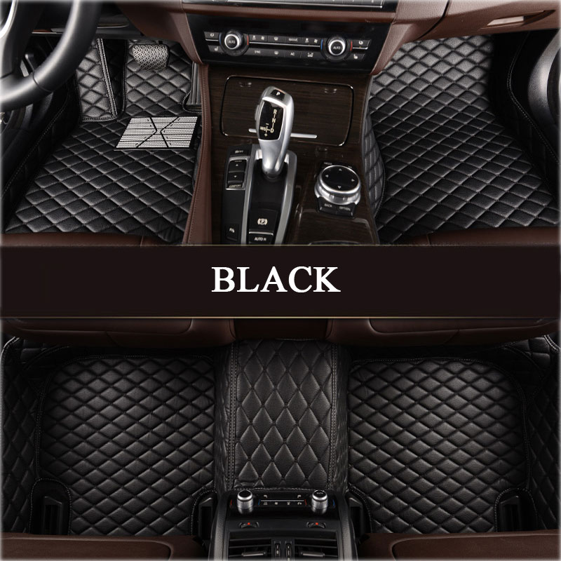 Custom fit car floor mats for Nissan altima Rouge X-trail Murano Sentra Sylphy Tiida 3D car-styling carpet floor liner carbon fiber reflective car door sills for nissan tiida sylphy sentra sunny almera teanapaladin patrol gtr car styling 4pcs