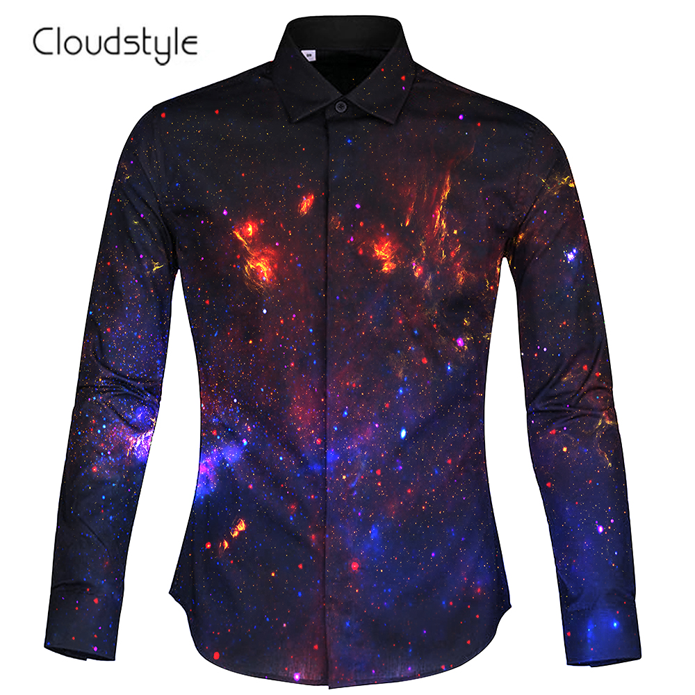 Cloudstyle Man\Woman Shirts 2018 Autumn\Winter Clothes Men's Luxury Shirt Single breasted Wedding shirt Cosplay Plus Size 2XL