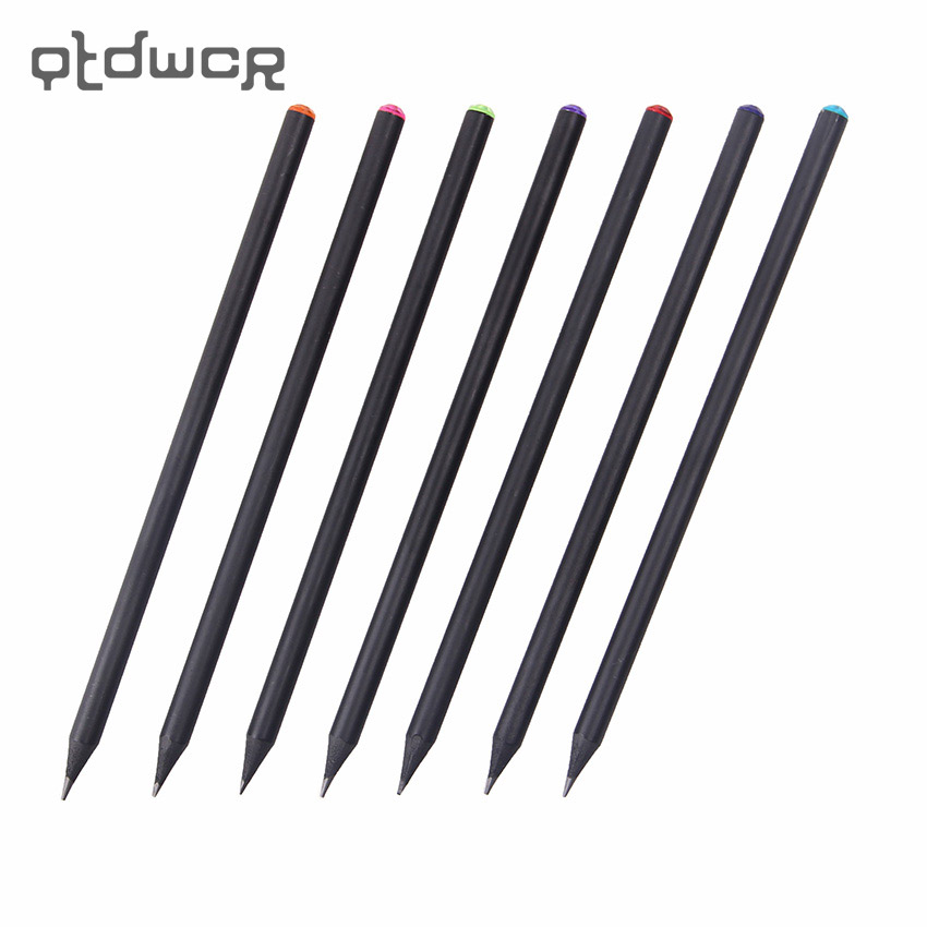 12Pcs/Set Pencil HB Diamond Color Pencil Stationery Items Drawing Supplies Cute Pencils  ...