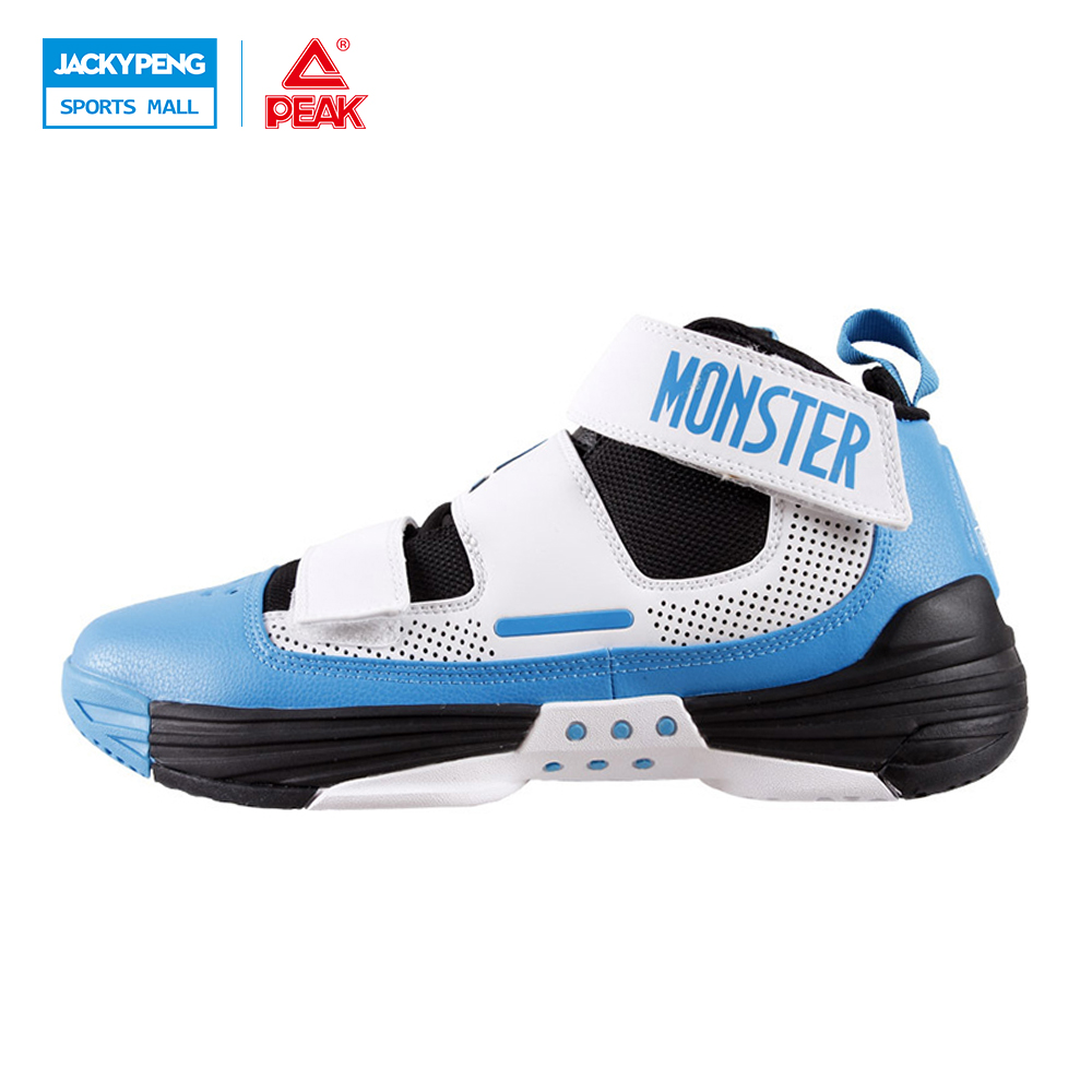 PEAK SPORT Monster III Men Basketball Shoes FOOTHOLD Tech Breathable Athletic Boots Durable Rubber Outsole Training Sneakers  peak sport monster ii men basketball shoes foothold tech sneakers breathable training athletic durable rubber outsole boots