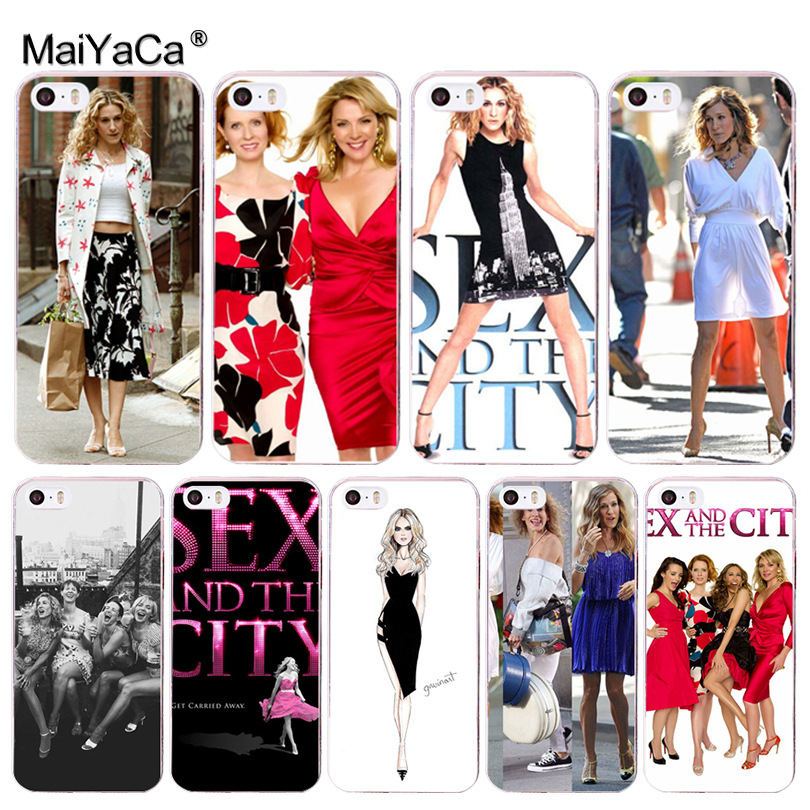 MaiYaCa American TV <font><b>Sex</b></font> and the city Luxury Phone Accessories <font><b>Case</b></font> for <font><b>iPhone</b></font> 8 <font><b>7</b></font> 6 6S <font><b>Plus</b></font> X 10 5 5S SE 5C 4 4S Coque Shell image