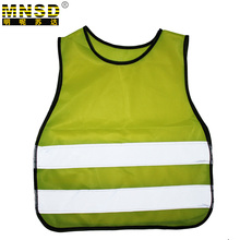 MNSD 3-12 Age Children Reflective vest Yellow Safety Vest Chaleco Reflectante Gilet Jaune Securite Reflective Vest Reflex Weste
