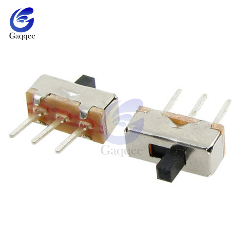 MSK-12D19 MINI Slide Switches Toggle Switch SPDT 1P2T 3 Pin PCB Side 2 Position