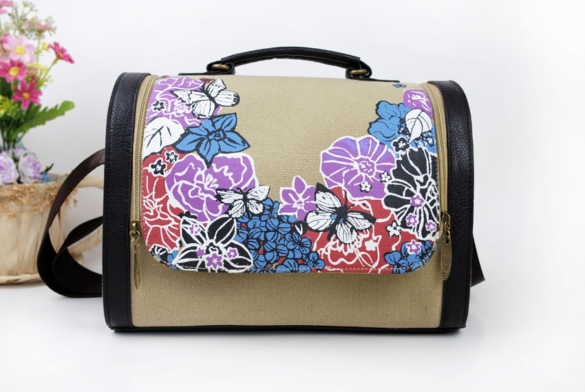 Canvas Handbags Freehand Sketching Individuality Chinese Style Unique Design  Colored Drawing Environmental Protection 2016 CHD3 0fe54ec9af596
