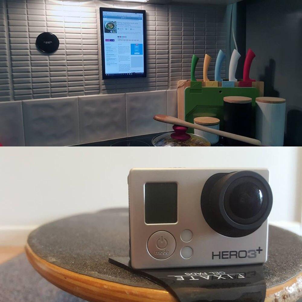 Wandhalterung & Armaturenbretthalterung für Smartphone, Gopro, Xiao - Kamera und Foto