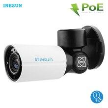Inesun Открытый poe ptz IP камера безопасности 5MP Super HD 2592×1944 4X оптический зум Автофокус Объектив 120ft ИК Ночной Vison водонепроницаемый