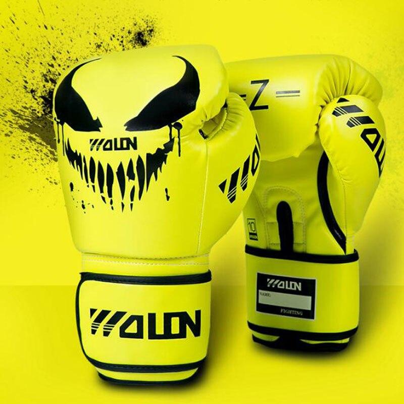 8/10/12 oz gants de boxe professionnels Muay Thai Sanda hommes femmes qualité professionnelle MMA combat gants de compétition
