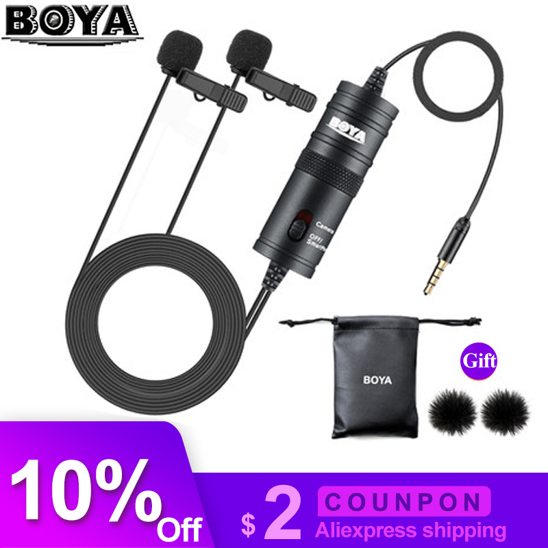 Microphones Sincere Boya By-m1 By-m1dm Phone Microphone Lapel Lavalier Audio Microfone For Xiaomi Camera Collar Mic Iphone Xs X 8 Canon Nikon Dslr To Help Digest Greasy Food