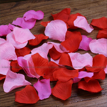Eloman 500 piece silk rose flower