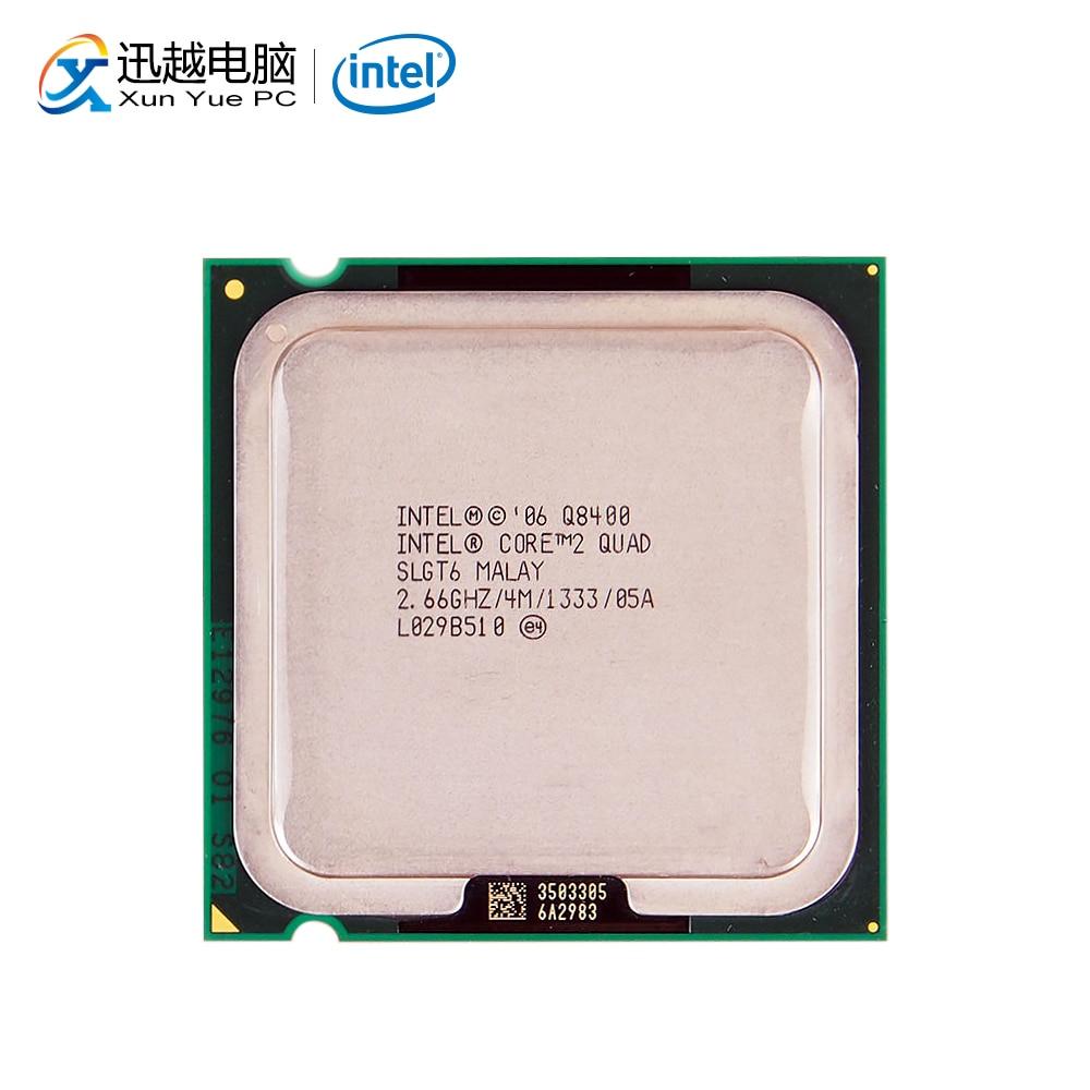 Intel Core 2 Quad Q8400 escritorio procesador Quad-Core de 2,66 GHz 4MB FSB 1333 LGA 775 8400 CPU utilizada INTEL QHQG versión de ingeniería ES de I7 6400T I7-6700K 6700K procesador CPU 2,2 GHz Q0 paso quad-core socket 1151