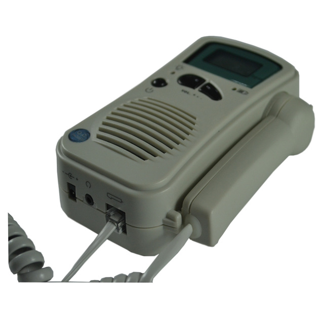 Pocket fetal doppler easy use to detect fetal heart rate FHR ultrasound doppler fetal FDA BF-500+ with LCD digital display