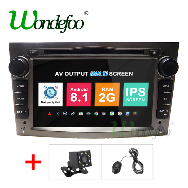 2g android 8.1 2 din radio gps for vauxhall opel astra h g j vectra