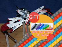 New Bricks Star Battle Captain Jag Clone Pilot R4 P44 ARC 170 Fighter Assembled Toy Building