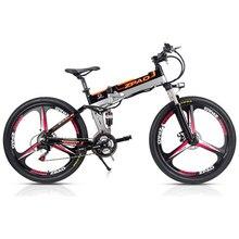 ZPAO 21 скорость, 26 дюймов, 48 В/15A 350 Вт, складной электровелосипед, горный велосипед, литиевая батарея, алюминий сплав рамки, дисковый тормоз