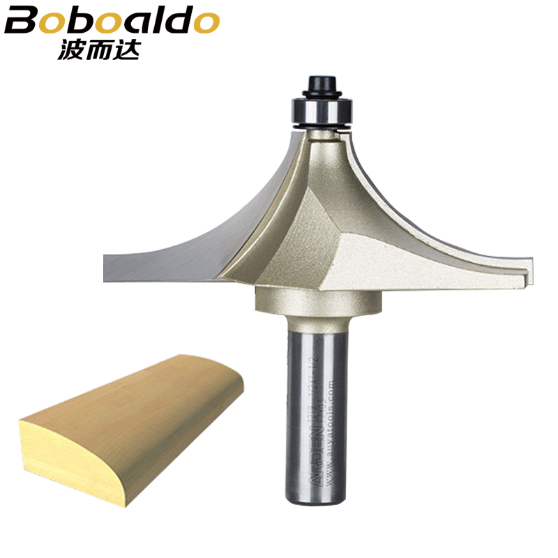 1/2 Shank Router Bits For Wood Tungsten Carbide Cutter Bit Arden Table Edge Router Bit Prrofessional Grade Woodworking Tools free shipping beading router bit woodworking router bits tungsten carbide beading bit 1 4 1 8 1 4 shank arden a0603014