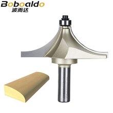 1/2 shank roteador bits para madeira cortador de carboneto de tungstênio bit arden borda mesa roteador bit prrofessional grau ferramentas para trabalhar madeira