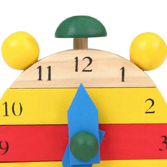 Mini Puzzle Clock Montessori Wooden Puzzles Toys Oyuncak For Children Digital Time Learning Education Educational Game Boys 49