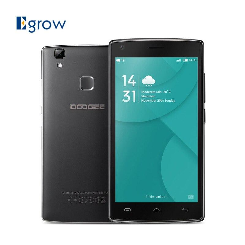 Original DOOGEE X5 MAX Pro Smartphone Dual SIM 5.0 Inch MTK6737 Quad Core Cellphone 2GB RAM 16GB ROM Fingerprint 4G Mobile Phone
