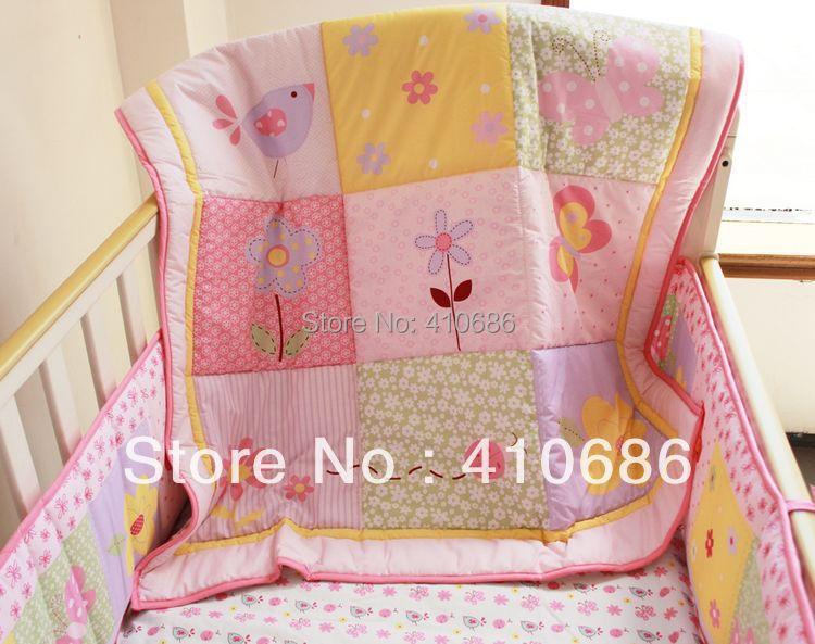Crib Bedding Set Butterfly