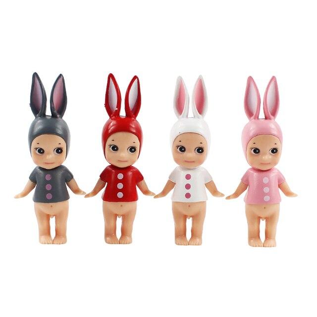 Lote de 4 muñecas de juguete, modelo de juguete para niños, de Sony Angel, Kewpie