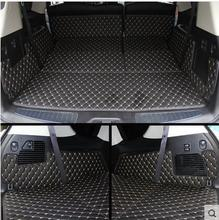 Good quality! Special trunk mats for Infiniti QX56 8seats 2014-2009 waterproof durable boot carpets for QX56 2013,Free shipping