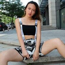 2c184037c3 New Arrival Sexy Black Letters Ribbons Camisoles Slim Cotton Nylon Crop  Tops Summer Night Club Slash Neck Super Short T-Shirt