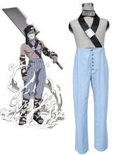 Free Shipping font b Naruto b font Momochi Zabuza Anime font b Cosplay b font Costume