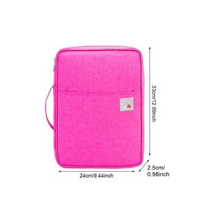 Image 2 - Multi functional A4 Document Bags Filing Pouch Portable Waterproof Oxford Cloth Organized Tote For Notebooks Pens Computer Stuff
