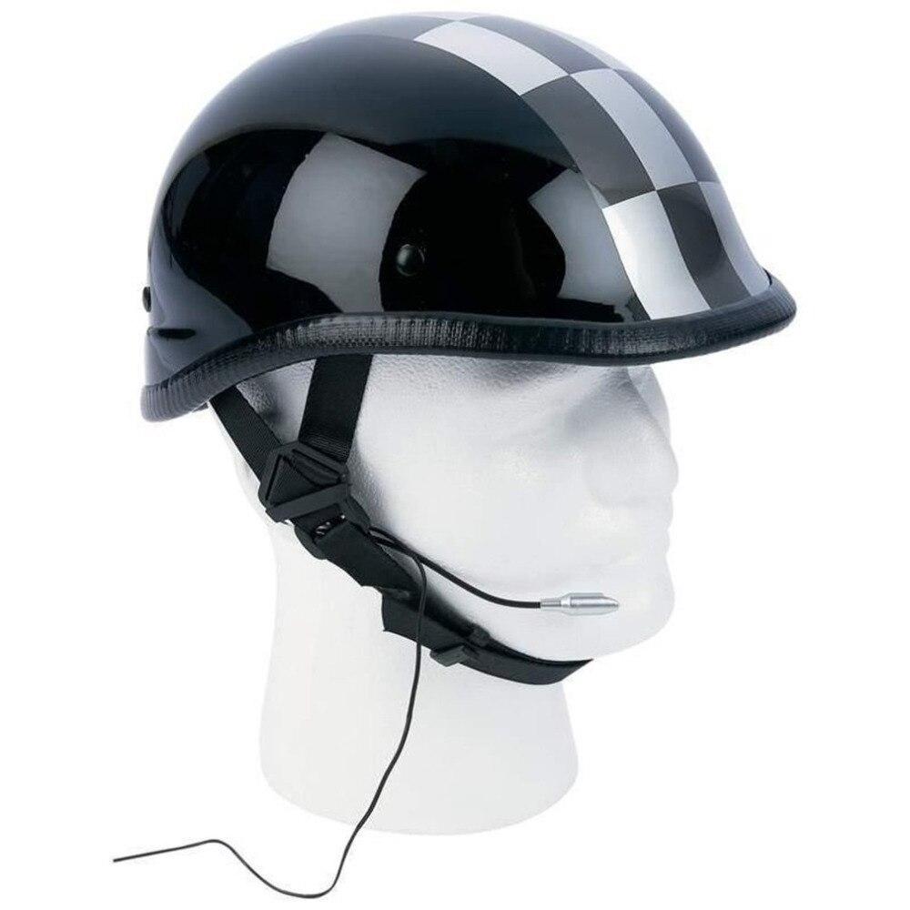 Casque /à Casque Communicator syst/ème 2 Way Casque Moto Intercom pour Harley Davidson intercomunicadores de Motos MP3 GPS ~