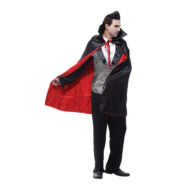 Adult Men Count Vampire Costumes Cosplay Halloween Purim Party Carnival Masquerade Mardi Gras Outfit M 0065 in Holidays Costumes from Novelty Special Use