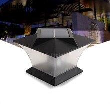 Modern Solar Lamps LED Pillar Light Fence Lamp Column Light Mount Outdoor Lighting Landscape Lighting PC+ABS Home Decor Fixtures