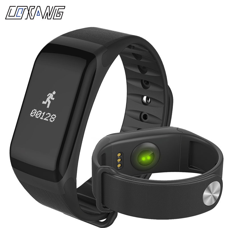 COXANG F1 Smart Bracelet Passometer Blood Pressure Activity Fitness Tracker Smart Band Heart Rate Monitor Wearfit Smart Bracelet цена 2017
