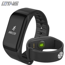 COXANG F1 Smart Bracelet Passometer Blood Pressure Activity Fitness Tracker Smart Band Heart Rate Monitor Wearfit Smart Bracelet