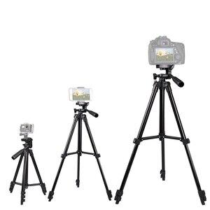 Image 4 - 35 100 سنتيمتر ترايبود حامل كاميرا المحمول جبل Tripe حامل كليب مجموعة آيفون 11 12 برو ماكس X XS 6 S 7 8 Plus بلوتوث
