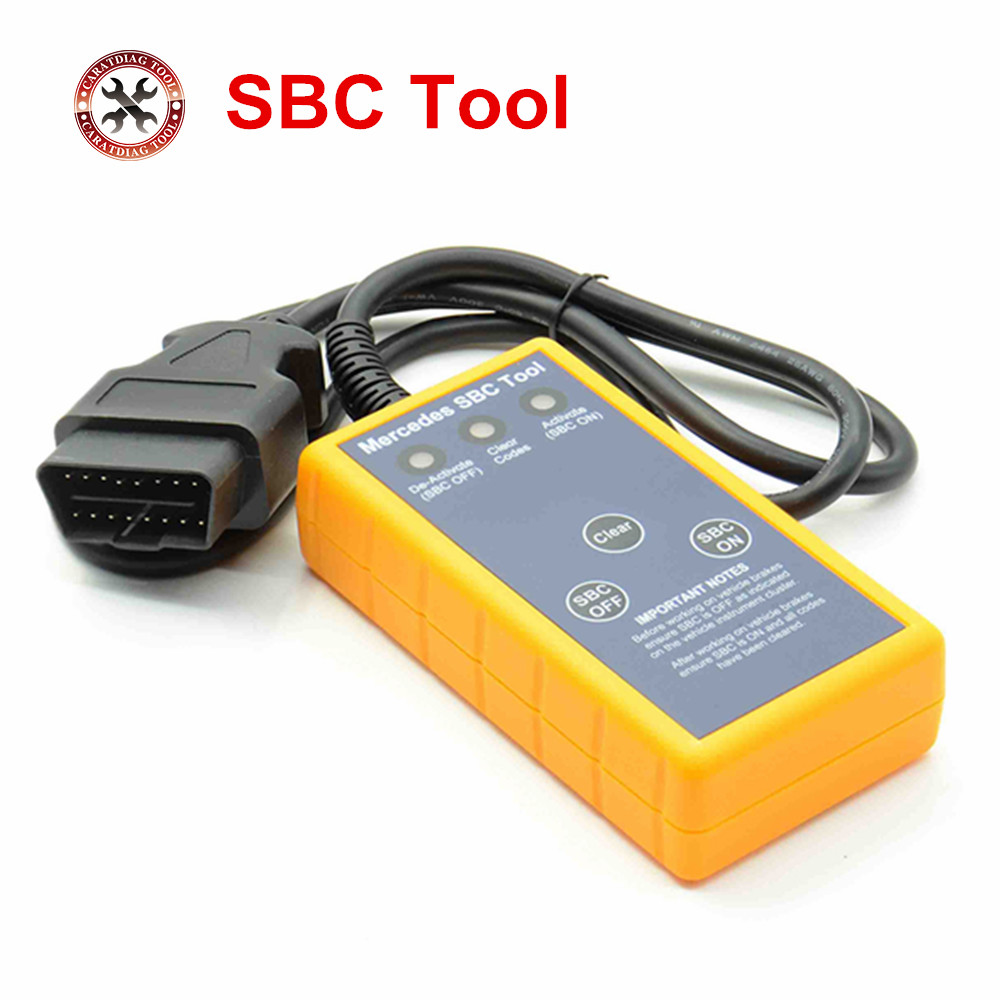 2018 Professtional Airbag Reset Tool For BENZ SBC Tool W211/R230 ABS/SBC  Tool MB SBC System For Mercedes For BENZ
