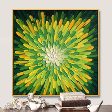 100% Large Hand Painted Knife flowe Oil Painting On Canvas Palette 3D Paintings For Living Room Modern Abstract Wall Art Picture